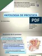 2 Patologias de La Prostata