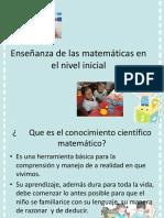 Enseñanza de las matemáticas en el nivel inicial.pptx
