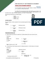 Teoria y Problemas de Regla de Interes Simple S3 Ccesa007