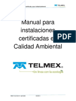 manuakl telmex en calidad ambiental