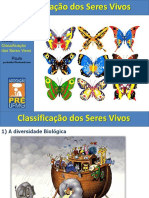 Classificacao dos seres vivos