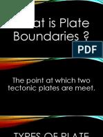 4-Types of Plate Boundaries