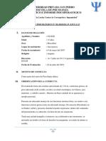Informe Psicológico Simbron 2