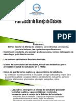Plan Escolar de manejo de Diabetes .pdf