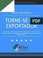 01 Checklist para se tornar um exportador de sucesso