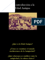 La antiguedad y la cultura clásica.