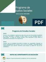 Programa de Estudios Sociales