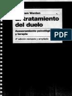 Worden W. - El Tratamiento Del Duelo. Asesoramiento Psicol Gico y Terapia (1)