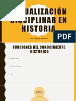 PPT Actualización docente en historia