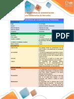 100504 Matriz de Criterios de Segmentación_ Diana Prada