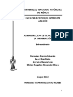 Administracion Tecnologías de Información