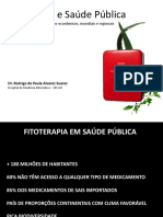 Fitoterapia Saúde Pública