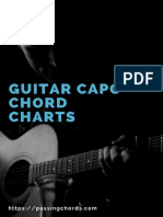 Guitar Capo Chord Chart eBook