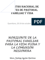 Tema 14 Horizonte Pastfam Para Vida Plena y Comunión Misionera