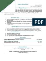Career Changer resume template