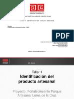 Identificación de un producto artesanal