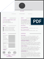 Modern1 resume template