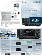 ICOM IC-9700 Brochure