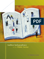 2 a Blann 2010 Auditor Independence in the Public Sector
