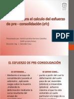 Metodos Para El Calculo Del Esfuerzo de Pre-consolidacion -TAREA 1 (1)