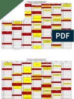 Academic Calendar-Odd Sem. 2019 & Even Sem. 2020