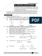 Alcohol Phenol and Ethers NCE