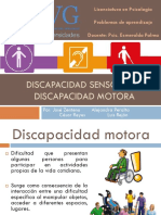 Discapacidad sensorial y motora