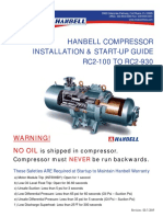 Hanbell Compressor Installation and Startup Guide