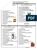school supply list 2019-2020