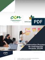 Instructivo Contratacion Docente 2019B Final