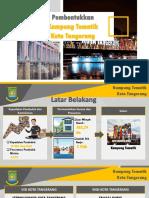 Pembentukkan Kampung Tematik Kota Tangerang - Bappeda