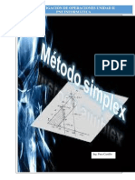 Metodo Dual y Siemplex