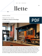 A Different Kind of Privilege - Quillette