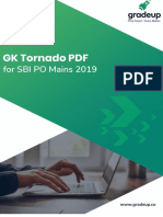 Gk Tornado Sbi Po Main Exam 2019-68