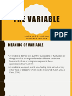 Part 2 - Variable