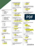 Cuestionario Sistema Oseo