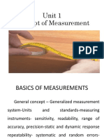 Basics of Measurement