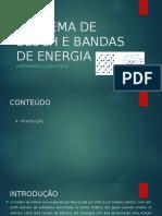 Teorema de Bloch e Bandas de Energia