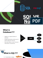 SQL vs NoSQL 1