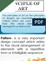 principle of arts
