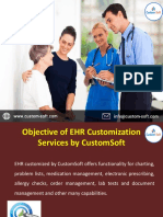 EHR Customization Services India - CustomSoft