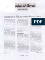 Business Mirror, Aug. 5, 2019, Vacancies in House committees remain.pdf