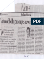 Business Mirror, Aug. 5, 2019, Veto of bills prompts rewrite of House rules.pdf