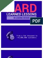 Hard-learned