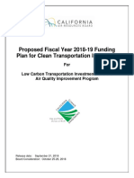Proposed Fiscal Year 2018-19 Funding Plan for Clean Transportation Incentives