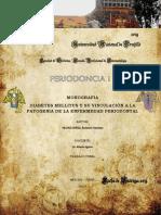 Monografia Diabetes Mellitus y Su Vinculación a La Patogenia de La Enfermedad Periodontal
