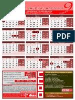 aagg2019 calendario