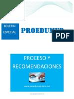 Boletin Especial Recomendaciones Para La Inscripcion Xli Enarm Vf