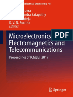 (Lecture Notes in Electrical Engineering 471) Jaume Anguera,Suresh Chandra Satapathy,Vikrant Bhateja,K.v.N. Sunitha (Eds.) - Microelectronics, Electromagnetics and Telecommunications_ Proceedings of