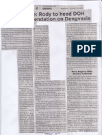 Philippine Star, Aug. 5, 2019, Palace Rody to heed DOH recommendation on Dengvaxia.pdf